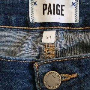 PAIGE Jeans - PAIGE verdugo crop size 30